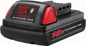 Milwaukee 48-11-1815 M18&#153L 18 Volt Compact Lithium-Ion Battery