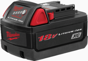 Milwaukee 48-11-1828 M18&#153L XC High Capacity LITHIUM-ION Battery