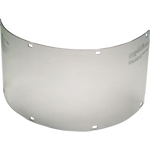 MSA 488131 Polycarbonate Visor, Clear (formed), 8 x 16 x .040