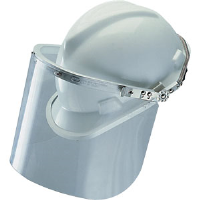 MSA 488160 Metal Defender®+ Foldback Faceshield Frame, Caps