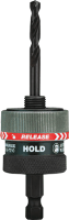 Milwaukee 49-56-7210 Twist-Release&#153L Small Quick Change Arbor, 3/8""