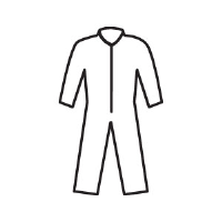 Kimberly Clark 49002 KleenGuard® A20 Coveralls w/ Zip, M, 24/Cs.