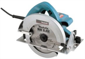 "Makita 5007FK 7-1/4"" Circular Saw with L.E.D. Light"