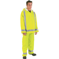 MCR Safety 500RPW Luminator Pants w/ Reflective Tape, Lime, L