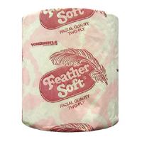 VonDrehle 5022 Feather Soft® 2-Ply Bath Tissue, 96/Cs.