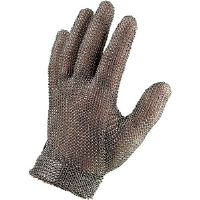 Sperian 52300 Chainex® Cut Resist Mesh Glove w/ Band Cuff, 2X-Small