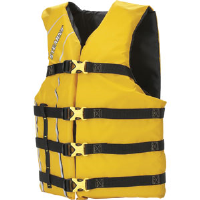 Stearns 5311OSYL Stearns Classic™ Life Preserver Vest, Adult, Yellow