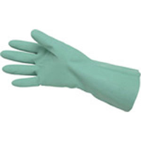 MCR Safety 5319U Green Unlined Nitrile Gloves, 15 mil, Size 9