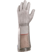 "Sperian 53331 Chainex® Mesh Glove w/ 7-1/2"" Cuff, 2X-Small"