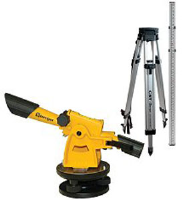 CST/Berger 54-140K 140B Transit-Level Kit w/ Tripod & Rod