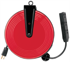 CIA Automotive 5430R 30' Triple Tap Cord Reel
