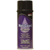 Quest Chemical 544 Moli-Guard Dry Lubricant Spray, 16oz,12/Cs.