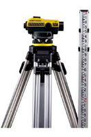 CST/Berger 55-SLVP24N 24X SAL AUTO LEVEL KIT:<br />  INCLUDES TRIPOD AND ROD