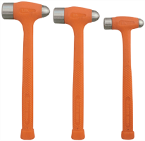 Astro Pneumatic 5520 3 Pc. Dead Blow Ball Peen Hammer Set