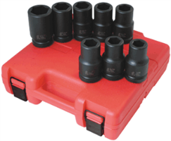 "Sunex 5681 8 Pc. 1"" SAE Deep Impact Socket Set"