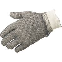 Sperian 5902S MS Chainex® Cut Mesh Glove w/ Spring Cuff, Small