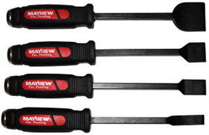 Mayhew Tools 60001 4 Pc. Dominator Carbon Scraper Set