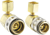 FJC Inc. 6012 90 Degree R134a Quick Coupler Set
