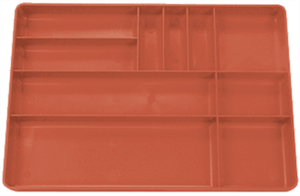 Protoco 6020 Tool Box Tray, Red