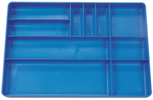 Protoco 6070 Tool Box Tray, Blue