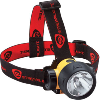 Streamlight 61050 Trident® LED Headlamp, Yellow