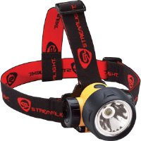 Streamlight 61080 Trident HP Headlamp, Yellow w/White LEDs