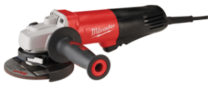 "Milwaukee 6116-31 4.5"" & 5"" Small Angle Grinder- Paddle (Non Lock-on)"