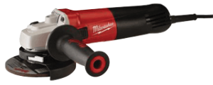 "Milwaukee 6116-33 4-1/2"" & 5"" Small Angle Grinder-Slide Switch"