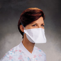 Kimberly Clark 62126 PFR95 N95 Respirator Masks,Pouch Style