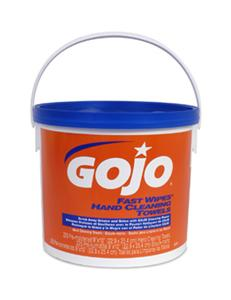 Gojo 6299-02 Fast Wipes® Hand Cleaning Towels, 225/ea, 2/Cs.