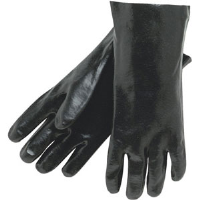"MCR Safety 6300 Memphis™ Premium Black PVC Gloves,SD 14"",(Dz.)"