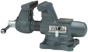 "Wilton 63200 Tradesman 5-1/2"" Round Channel Vise w/ Swivel Base"