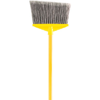 Rubbermaid 637500 Angle Broom w/Vinyl Coated Metal Handle