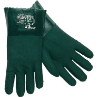 "MCR Safety 6412 Memphis™ Premium Green PVC Gloves, 12"",(Dz.)"