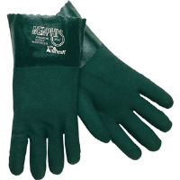 "MCR Safety 6414 Memphis™ Premium Green PVC Gloves, 14"",(Dz.)"
