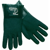 "MCR Safety 6418 Memphis™ Premium Green PVC Gloves, 18"",(Dz.)"