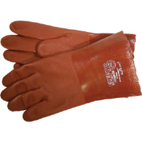 "MCR Safety 6452S Memphis™ Premium Red PVC Gloves, 12"",(Dz.)"