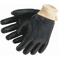 "MCR Safety 6512SJ Double Dipped PVC Textured Gloves, 12"",(Dz.)"