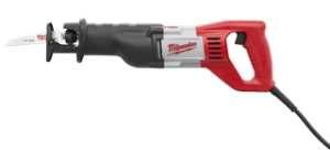 "Milwaukee 6519-31 Sawzall Kit 1-1/8"" Stroke, 12 Amp"