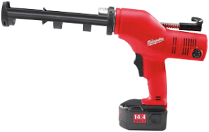 Milwaukee 6562-21 Cordless Caulk Gun, 14.4 Volt