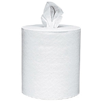 VonDrehle 6602T Preserve® 2 Ply, White Center Pull Towels, 6/Cs.