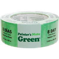"Duck Brand 667016 Painter's Mate Green Masking Tape, 1.88"" x 60 yd"