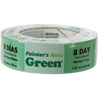 "Duck Brand 667017 Painter's Mate Green Masking Tape, 1.41"" x 60 yd"