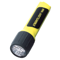 Streamlight 68202 ProPolymer® LED Flashlight, 4AA, Yellow, Blister