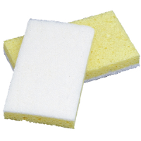 Impact Products 7129P Cellulose Light-Duty Scrubber Sponges, 5/Cs.