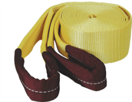 "K Tool International 73811 Tow Strap 3"" x 20' 22,500 lb Capacity - Looped Ends"