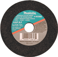 "Makita 741402-8 4"" GRINDING WHEELS (5), 3/16"""