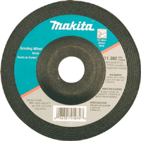 "Makita 741402-9AP 4"" Grinding Wheels (5), 1/4"""