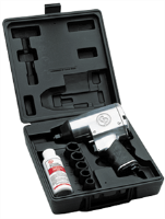 "Chicago Pneumatic 749K 1/2"" Super Duty Air Impact Wrench Kit"