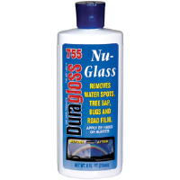 Duragloss 755 Nu-Glass Water Spot Remover, 8oz,6/Cs